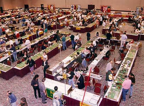 IWJG Exhibitor Tables